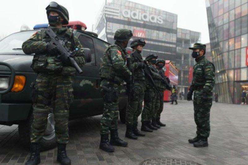 這是中國首部專門針對恐怖主義的立法。(BBC中文網)