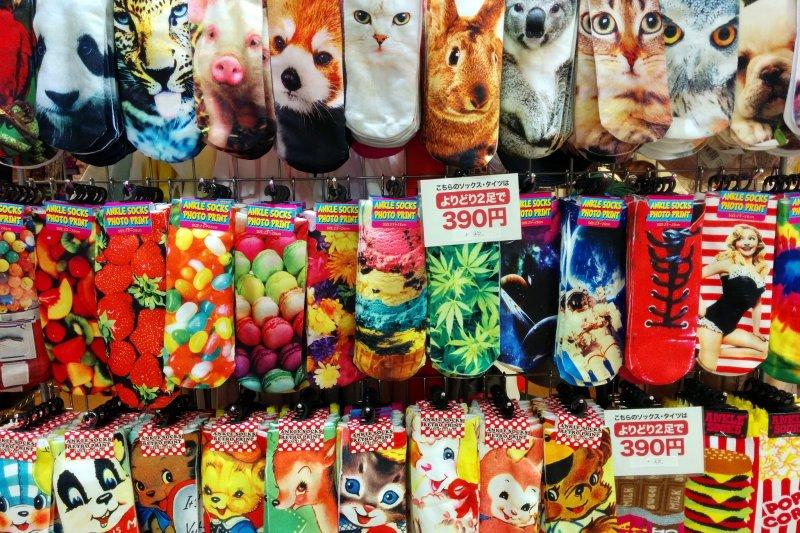 你喜歡用日本製的產品嗎?那絕對不可以錯過奈良製作的襪子!(圖/Cory Doctorow@flickr)
