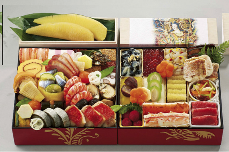 對於喜愛過年圍爐的臺灣人來說,可能不太能接受日本的年節料理。(圖/三越伊勢丹百貨)