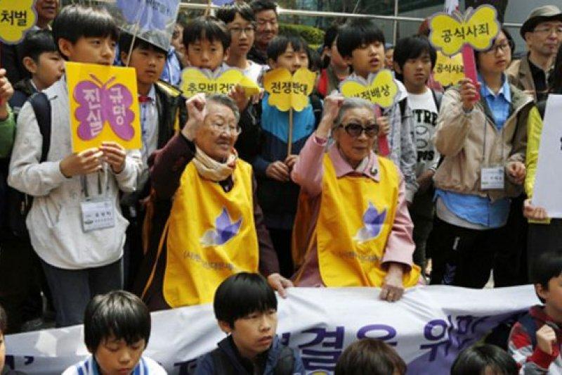 自2014年起,韓日兩國針對慰安婦問題, 舉行過14次局長級政府代表談判。(BBC中文網)
