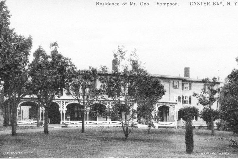 1906年夏天,華倫夫婦和四個孩子、五名僕人住在這棟典雅的牡蠣灣豪宅。(遠流出版提供)