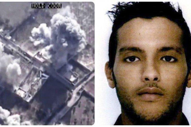 巴黎恐攻主嫌之一莫丹(Charaffe al-Mouadan)在聯軍空襲行動中喪命。(取自網路)