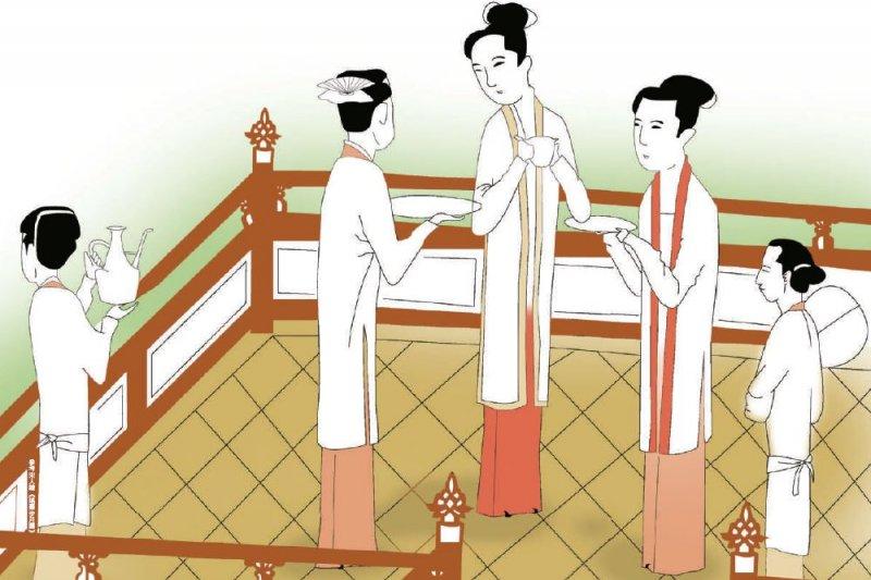 宋朝女生的裙子總是輕飄飄,像女子纖細柔弱,讓人心生憐愛(圖/旅讀中國)