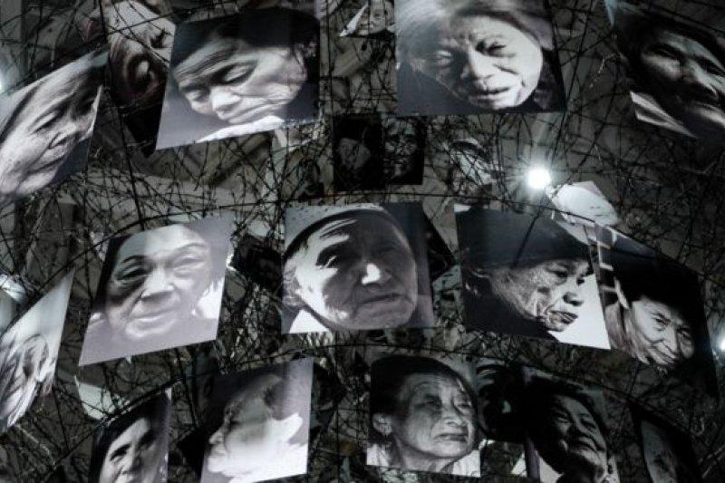 中國倖存慰安婦曾數次到日本提起索賠訴訟。(BBC中文網)