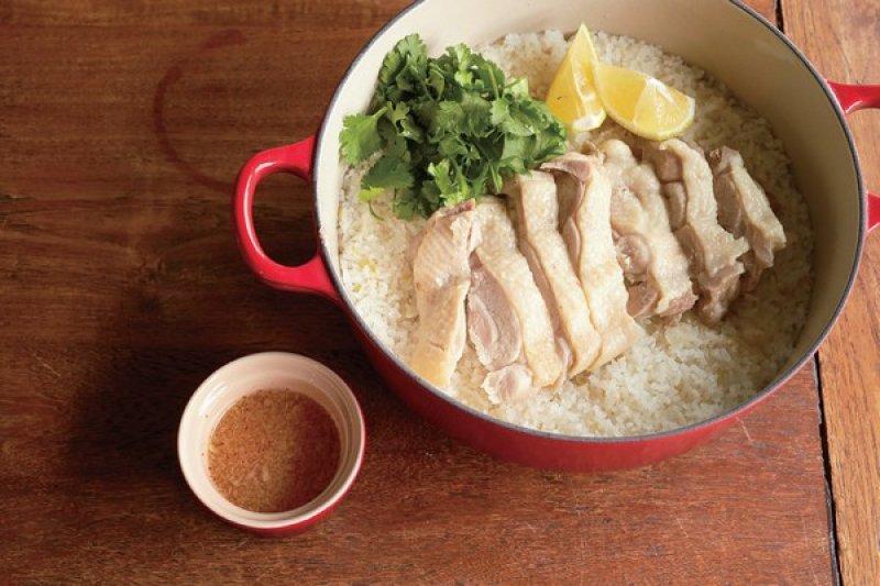 海南雞飯這道經典南洋料理,作法超乎想像地簡單!(圖/采實文化提供)