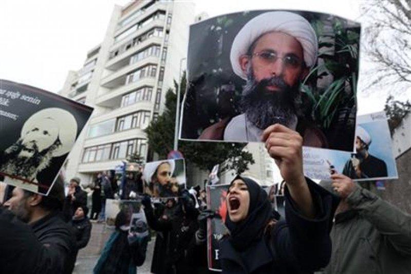 沙國與伊朗斷交。(美聯社)