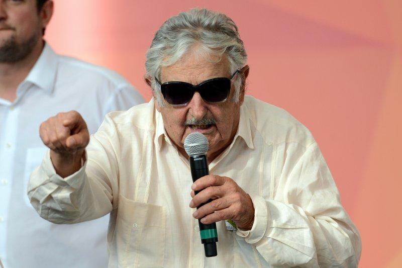 烏拉圭前總統穆希卡推動過很多前衛的法案。(圖/Agência Brasil Fotografias@Flickr)
