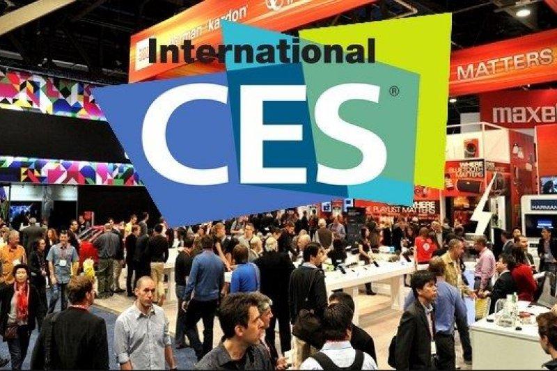 2016美國消費性電子大展(CES)。(取自網路)