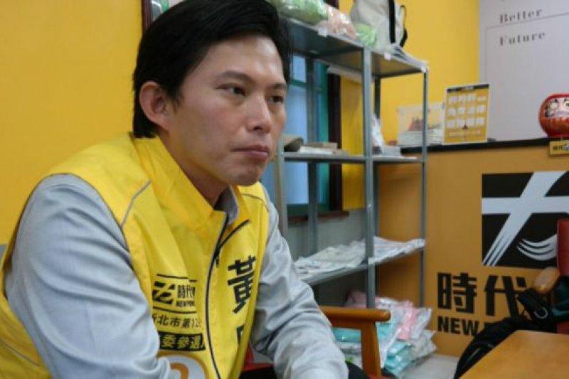 黃國昌認為,他的政治路是「循序漸進」的。(BBC中文網)