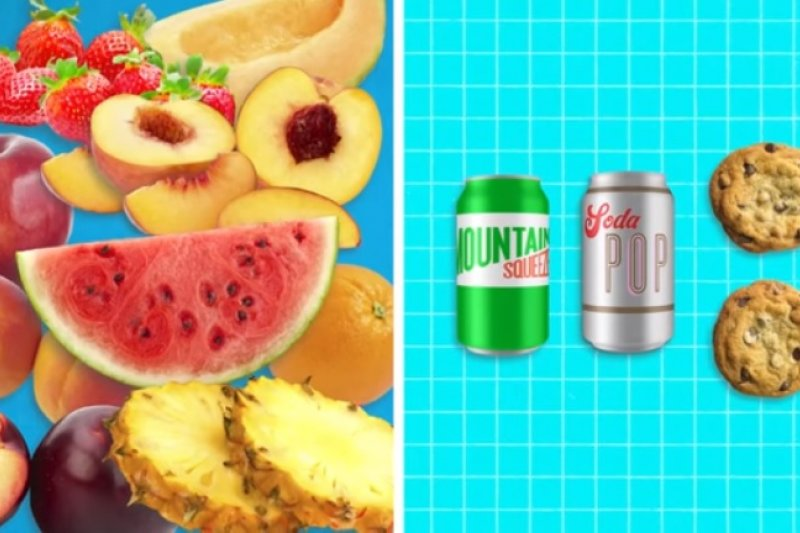 想攝取甜甜的糖分時,水果可能會比汽水來的健康!