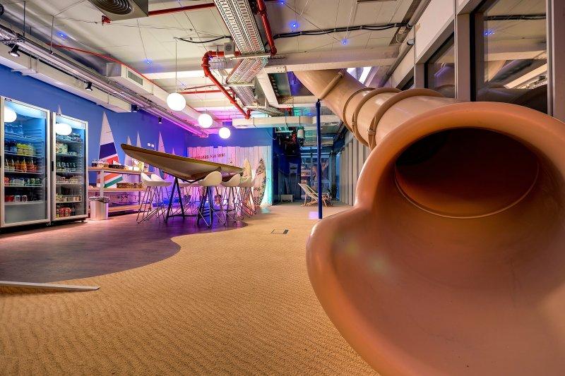 禮拜一不想上班?窺探Google最新辦公室讓人不想下班的秘密!(圖/Evolution Design)