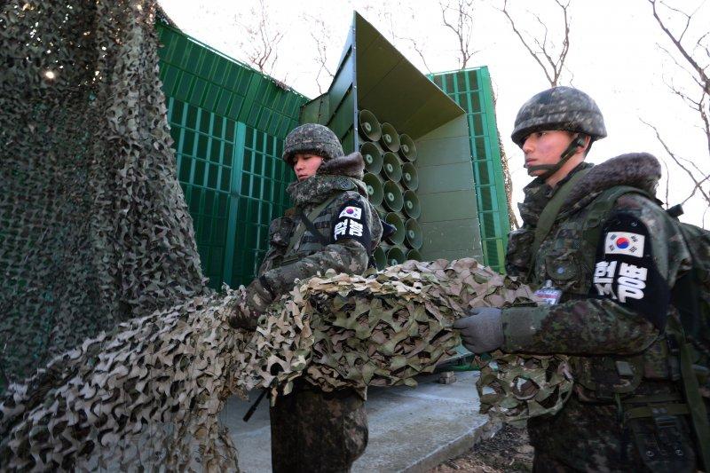 南韓軍方8日重啟對北韓心戰喊話(美聯社)