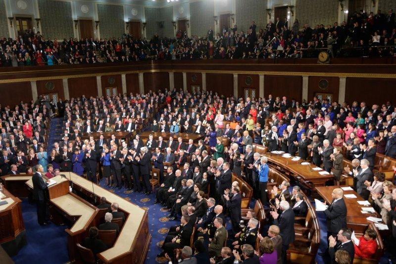 美國總統歐巴馬12日將發表任內最後一次的國情咨文。(美聯社)