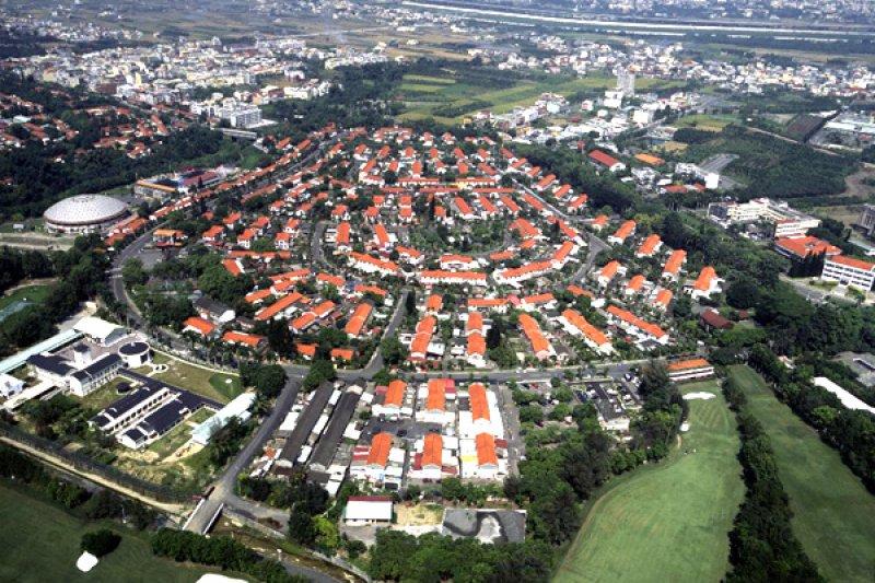 過去幾年房價越炒越高,政府也喊了一些口號、提了一些政策,圖為中興新村高等研究園區。(陳敏明攝,內政部營建署官網)
