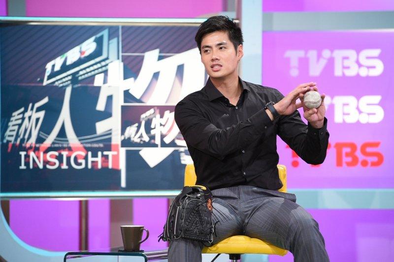 旅美球員陳偉殷表示,20歲時曾因為是否開刀猶豫3個月,最後被郭源治一句「年輕恢復比較快」點醒。(TVBS提供)