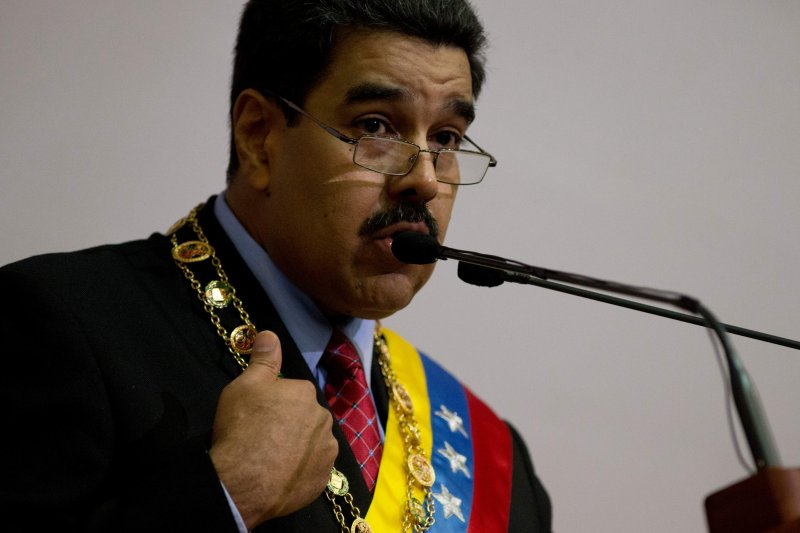 委內瑞拉經濟緊急狀態。總統馬杜洛。(美聯社)