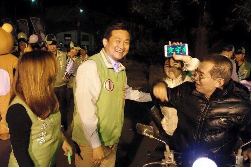 王定宇深入地方布局,成功衝破15萬票,成為台灣立委得票最高者。(取自王定宇臉書)