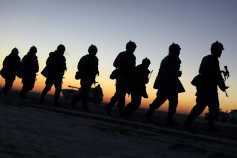 中國海軍陸戰隊曾於2015年1月在東北的吉林冬訓。(BBC中文網)