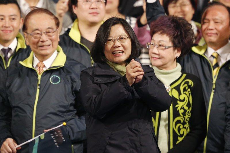 2016年台灣總統大選(美聯社)