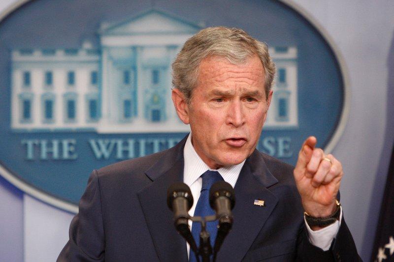 美國前總統小布希(美聯社)