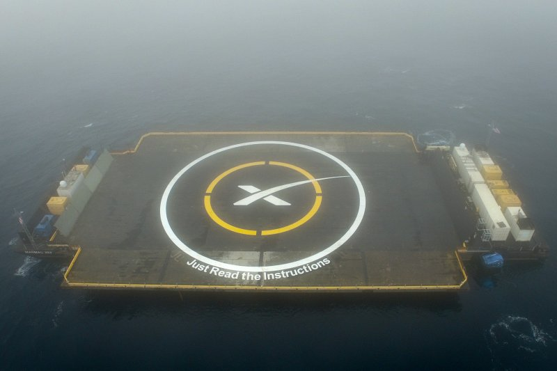 SpaceX的海上浮動平台(SpaceX)