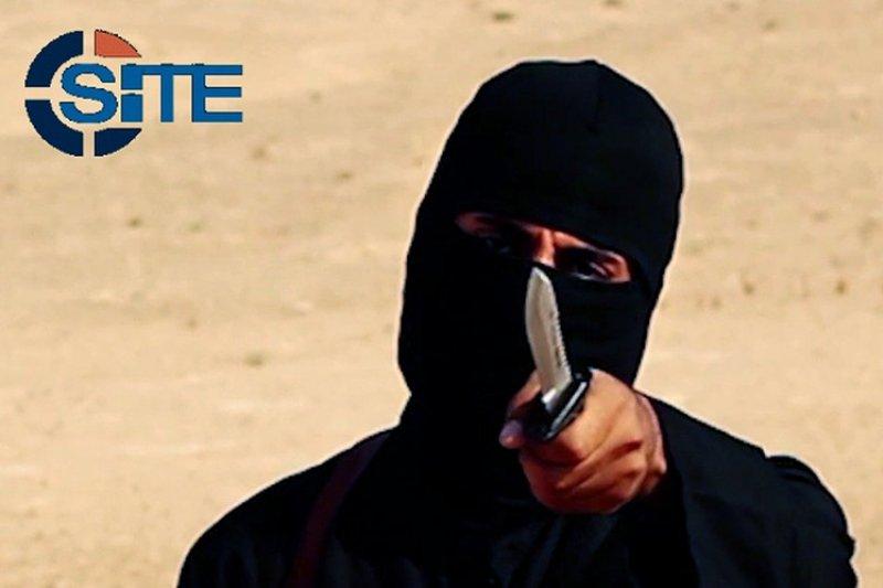 伊斯蘭國劊子手「聖戰士約翰」(Jihadi John)(美聯社)