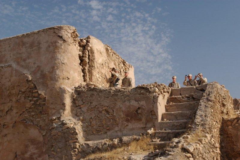 伊拉克摩蘇爾(Mosul)的聖以利亞修道院(Dair Mar Elia,St. Elija