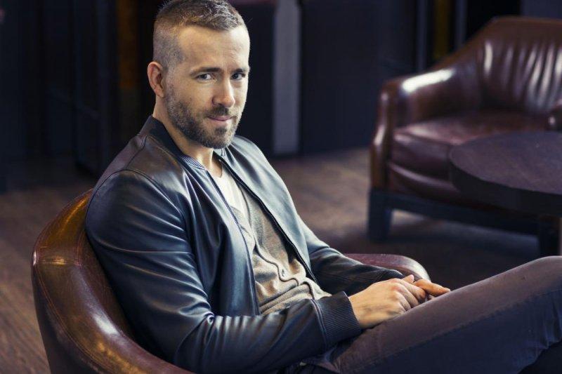 美國好萊塢當紅男星萊恩雷諾斯(Ryan Reynolds)(美聯社)