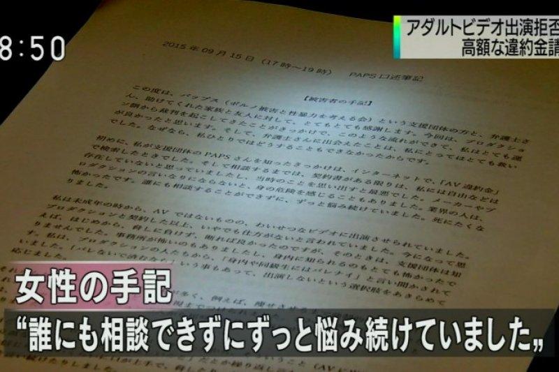 拒演AV的受害者手記。