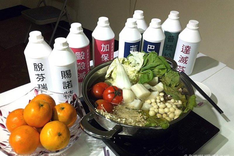 購買年菜要當心,6大量販店通路蔬果農藥超標。(取自綠色和平官網)