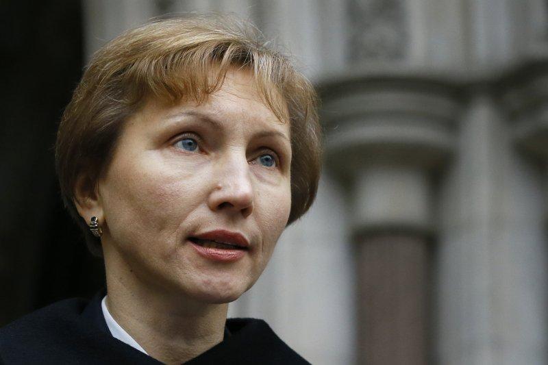蘇聯與俄羅斯前特務利特維年科(Alexander Litvinenko)的遺孀瑪莉娜(Marina Litvinenko)(美聯社)