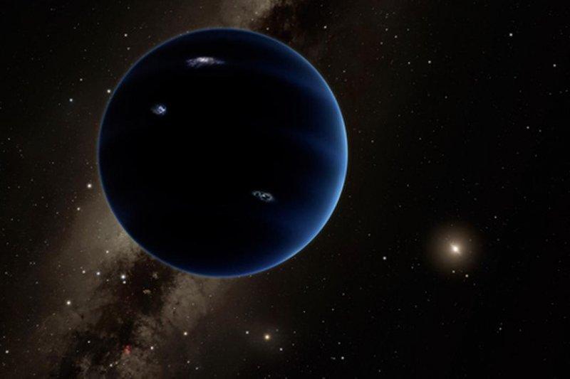 太陽系的「9號行星」(Caltech)