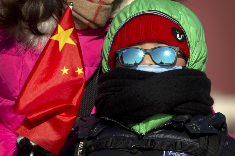 北京23日迎來零下30度、30年來最低溫記錄。(美聯社)