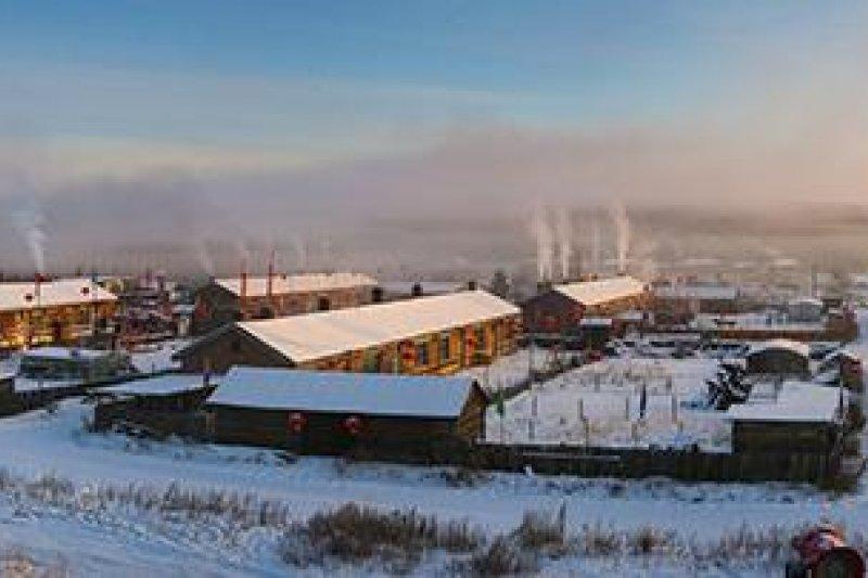 蒙古冬季的第一場雪,昭示著獵狼的季節到了!。(資料照,取自視覺中國圖)