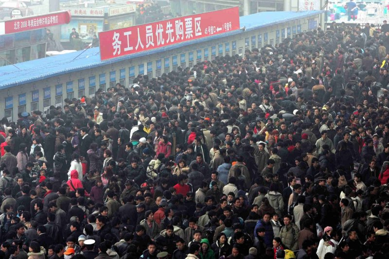 中國春運(取自網路)