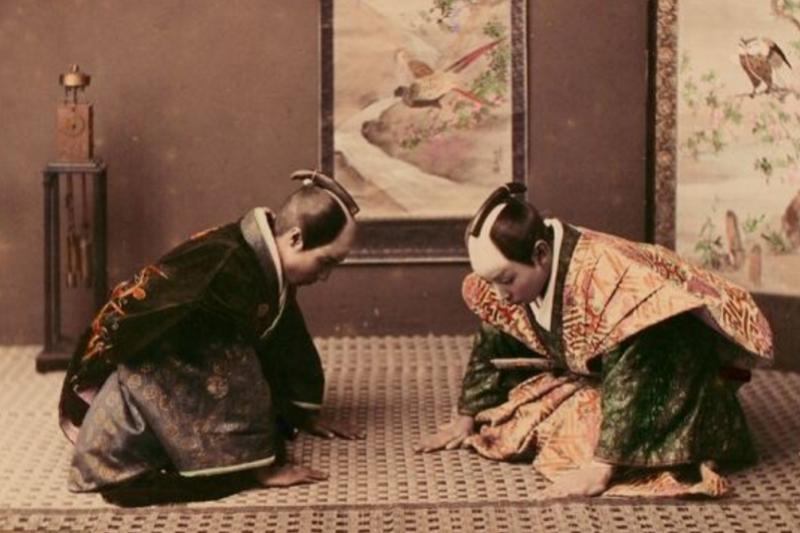 十九世紀日本武士圖片。(環球網)