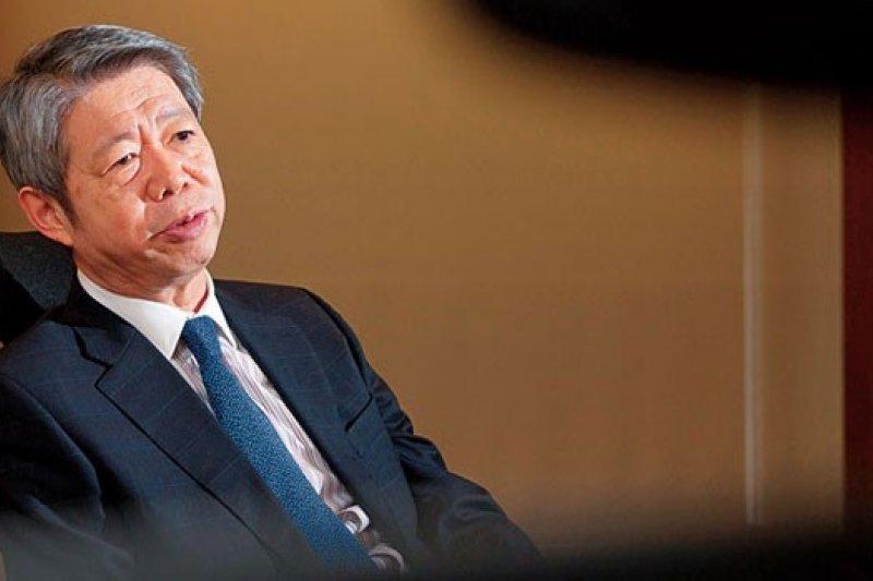 TVBS董事長張孝威接受《商業周刊》專訪,首度告白T台內部風暴始末。(攝影者.許世穎)