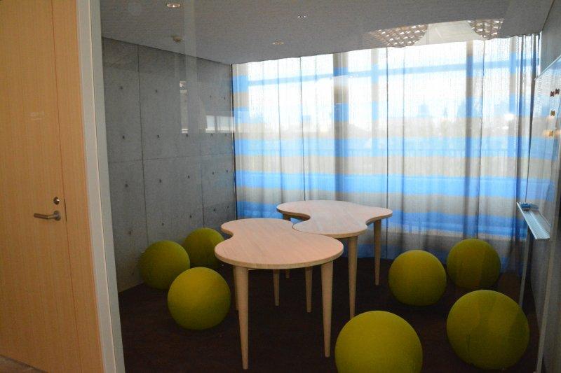 館內還設有自由討論室,民眾可在此進行討論,不怕影響其他讀者。(翻攝日本岐阜市市立中央圖書館官網)