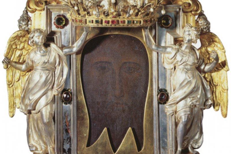 第三至第五世紀埃德薩耶穌聖容聖像。(取自故宮官網,梵諦岡城國版權所有)
