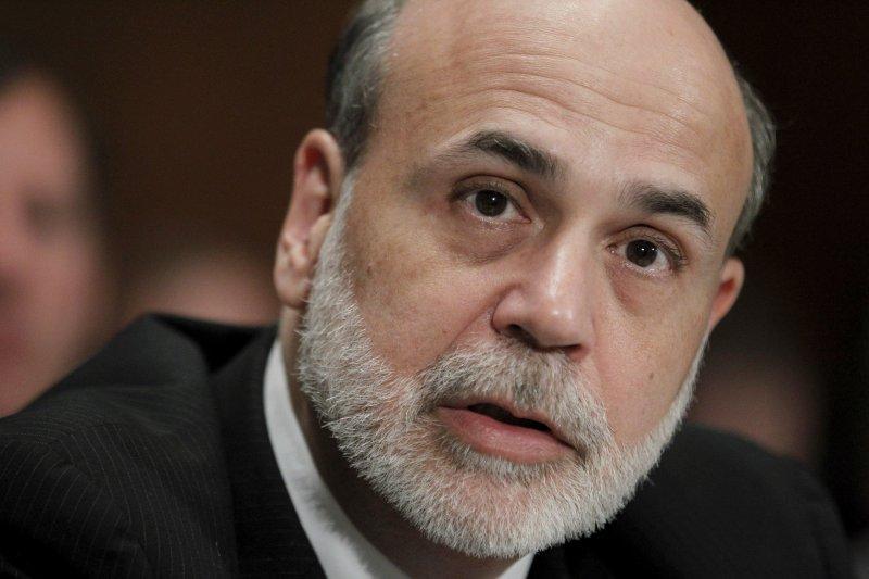 美國聯準會(Federal Reserve)前主席柏南克(Ben Bernanke)(美聯社)
