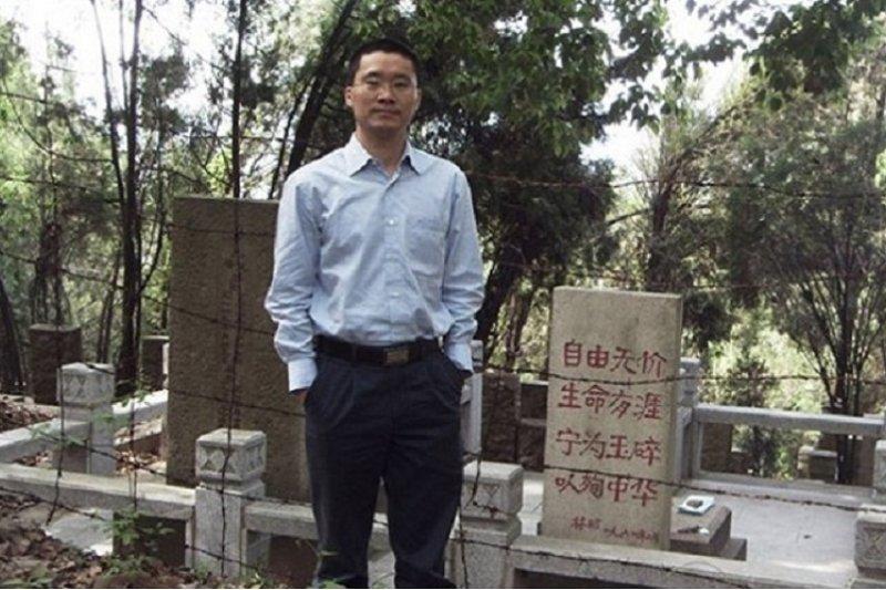 被判刑五年拒絕上訴的中國維權律師唐刑陵。(博談網)