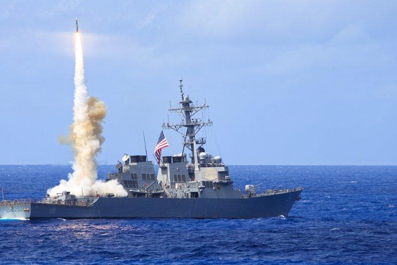 柯蒂斯·威爾伯號驅逐艦。(美國海軍官網)
