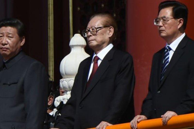 習近平喊出了「習核心」似要取代「江核心」,而「胡核心」似乎本來就沒曾出現過。(BBC中文網)