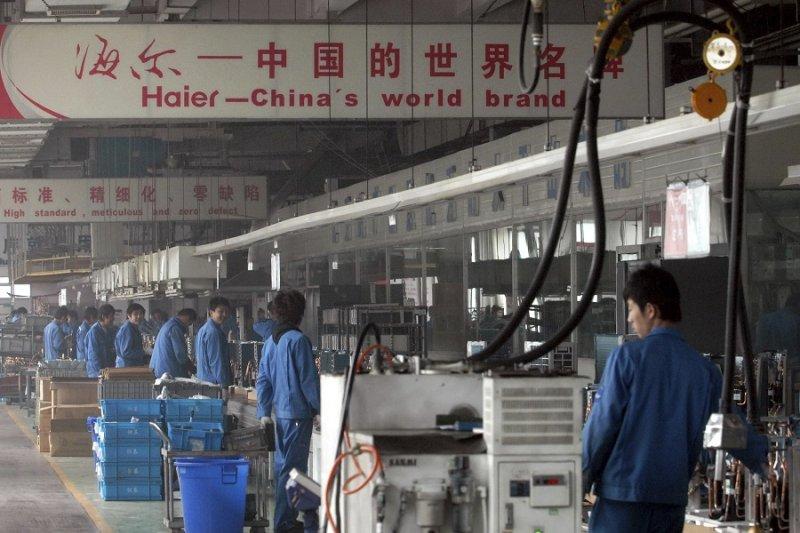 中國製造業/工業(美聯社)