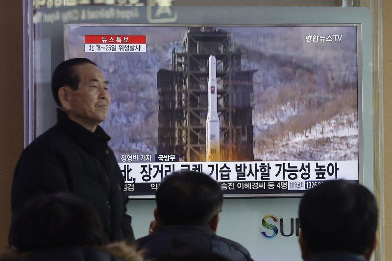 北韓最快下周試射長程飛彈,南韓民眾高度關注(美聯社)
