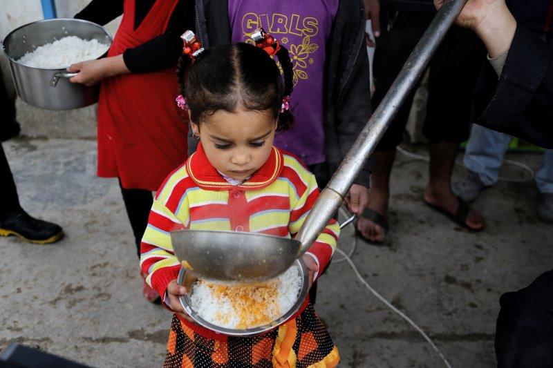 戰爭帶來大規模飢餓,中東的悲慘世界(美聯社)