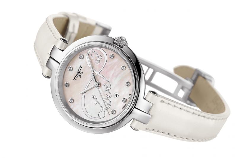 天梭弗拉明戈系列情人節腕錶 NT$9,400。(圖/TISSOT)