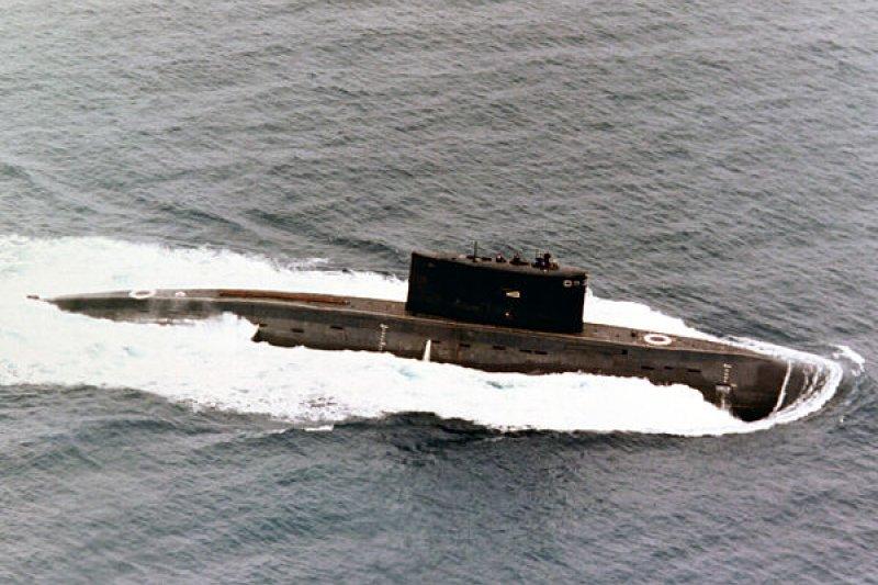 前蘇聯的636型基洛級潛艦。