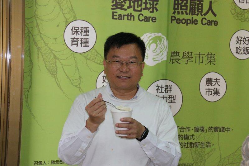 農民團體幹部聯合訓練協會秘書長王志文認為,台灣加入TPP不只農產品面臨挑戰,也將面對農村文化保存與否的大哉問。(王志文提供)