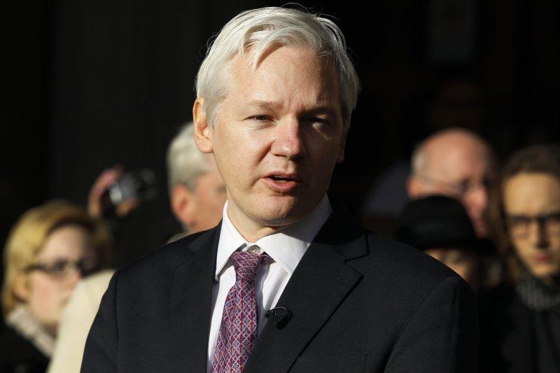 《衛報》報導,厄瓜多大使館為庇護維基解密創辦人阿桑奇耗費至少500萬美元。(美聯社)